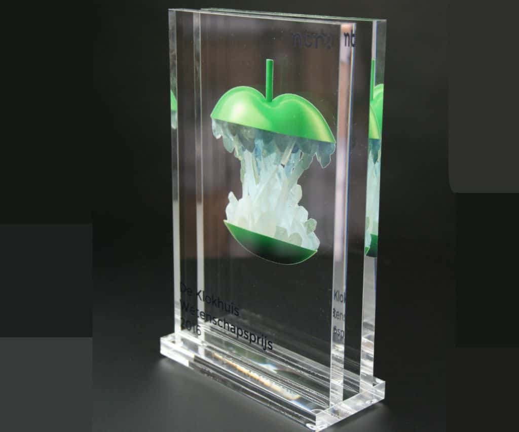 Award 2 lagen print voet