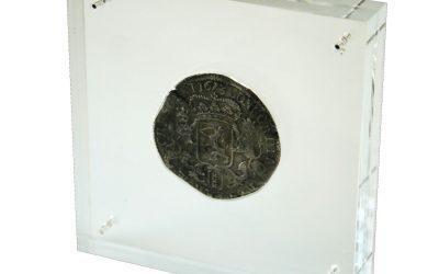 Display voor munt