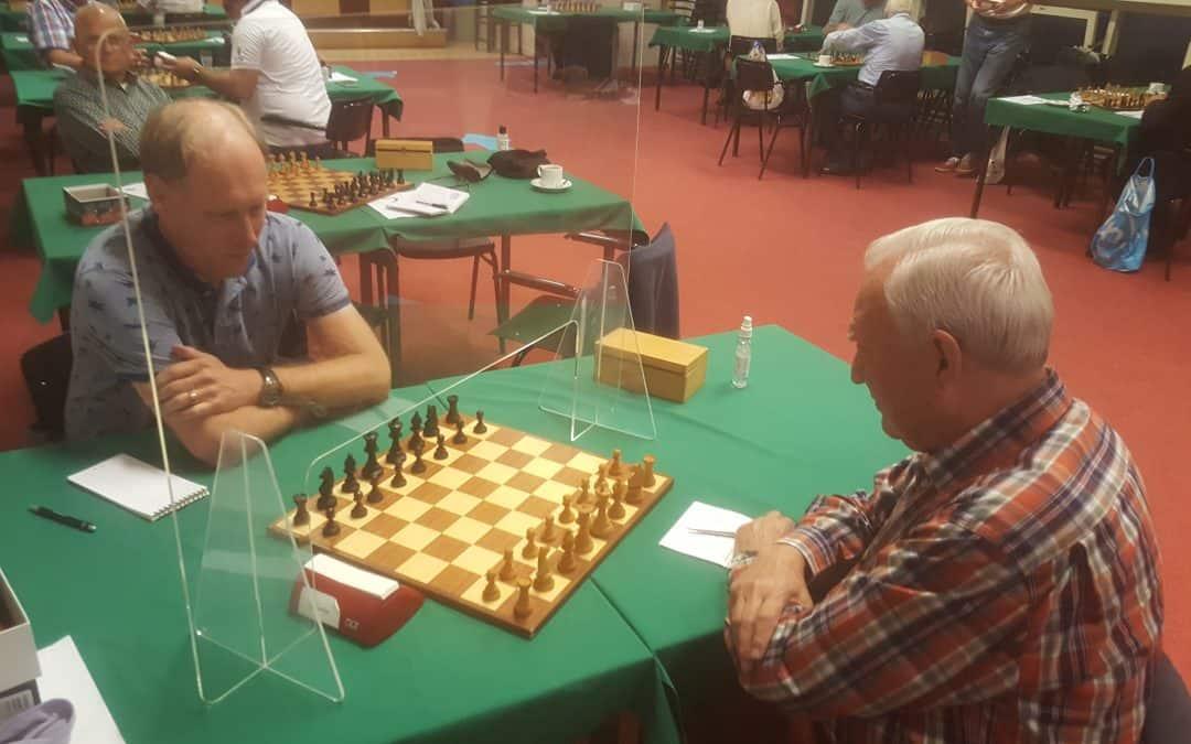 Schaakshermen voor schaakclub